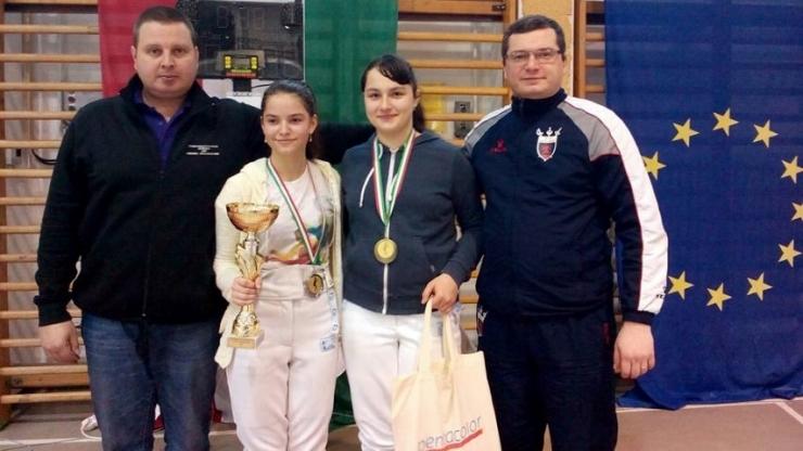Melissa Korossy (CS Satu Mare), locul II la etapa din Circuitul European U14 de floretă feminin