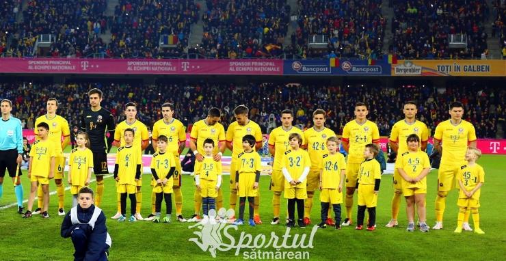 Naționala României a coborât un loc în clasamentul FIFA