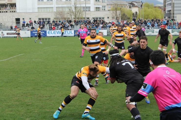 A început SuperLiga CEC Bank la rugby ediţia 2015
