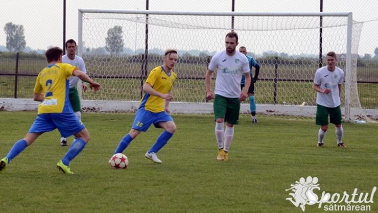 Meciurile programate în fotbalul județean sătmărean se joacă