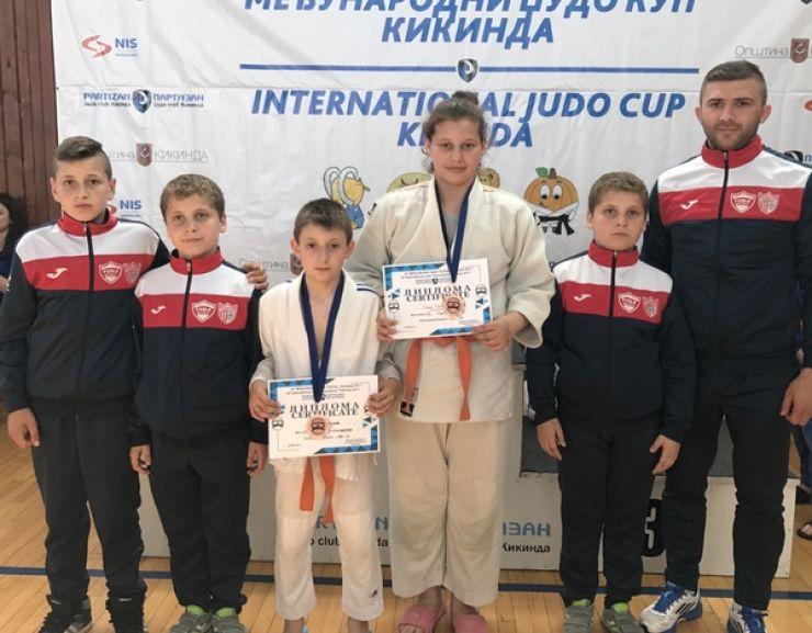 Două medalii de bronz pentru judoka de la CSM - CS Fușle Security