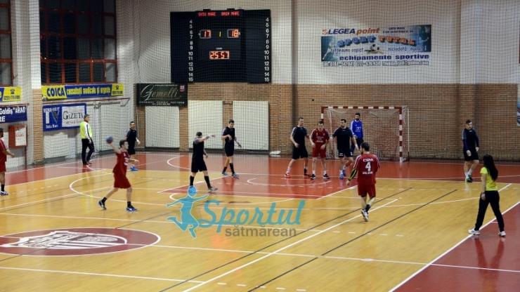 Handbal. HCM Minaur Baia Mare a câștigat meciul amical jucat împotriva CSM Satu Mare