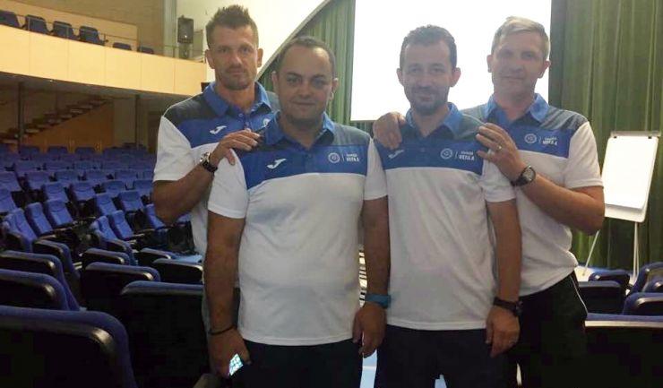 Cristian Popa și Răzvan Nintaș au devenit posesorii Licenței A UEFA