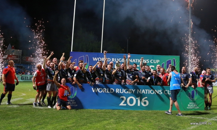 Stejarii au reușit a doua dublă din istoria World Rugby Nations Cup