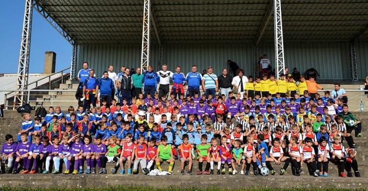 Fotbal juniori: A început Interliga Națională de Fotbal U7, U8, U9 și U10