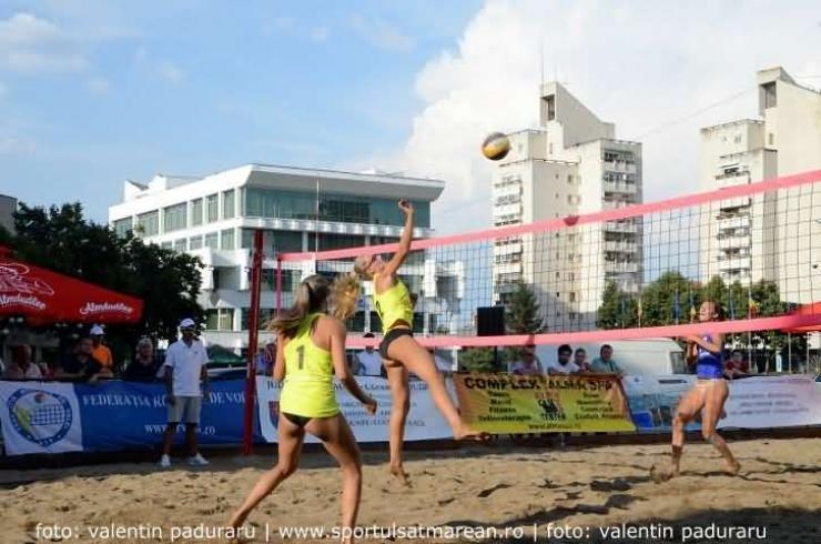 Turneu Internațional de beach-volley, în weekend, la Satu Mare