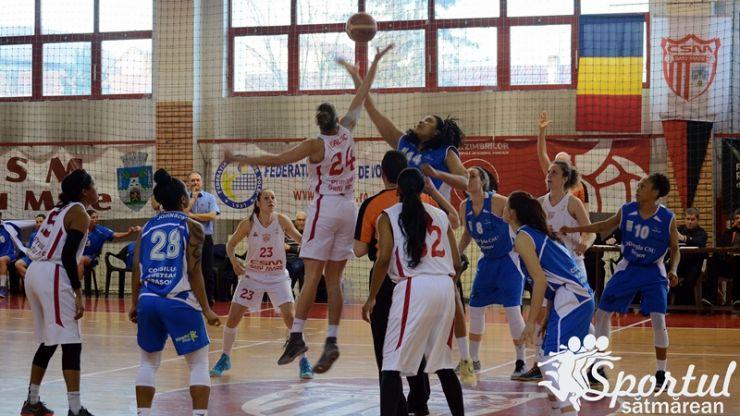 Baschet | CSM Satu Mare 69 – 70 Olimpia CSU Brașov