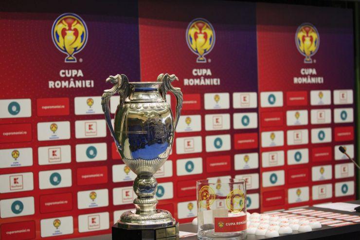 Au fost stabilite meciurile optimilor de finală ale Cupei României