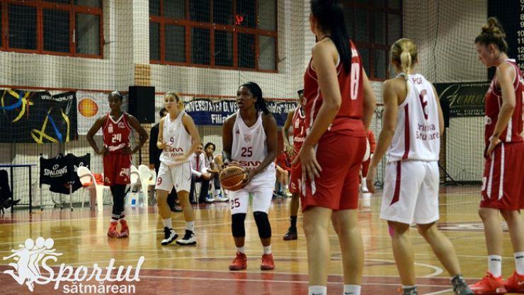Baschet | Început de sezon ratat pentru CSM Satu Mare