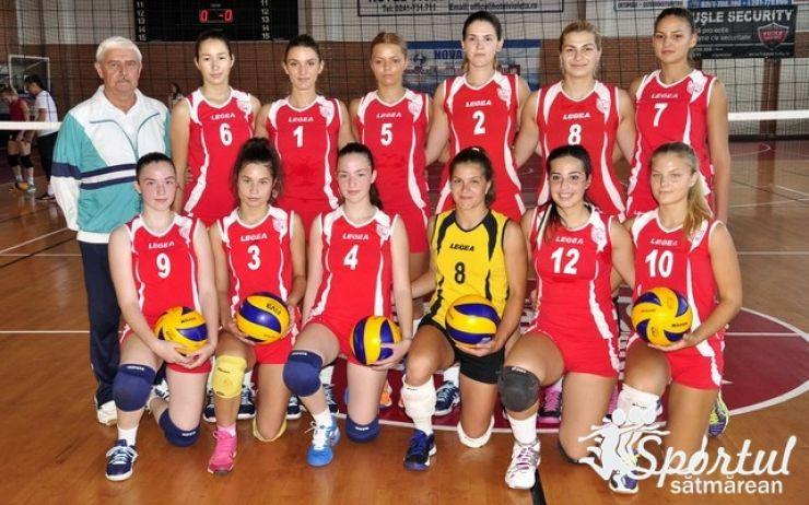 Voleibalistele de la CSM Satu Mare au început cu dreptul noul sezon