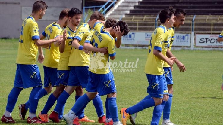 Felicitări, Lulu Dragomir! FC Olimpia Satu Mare s-a calificat în sferturile Cupei României Elită U19