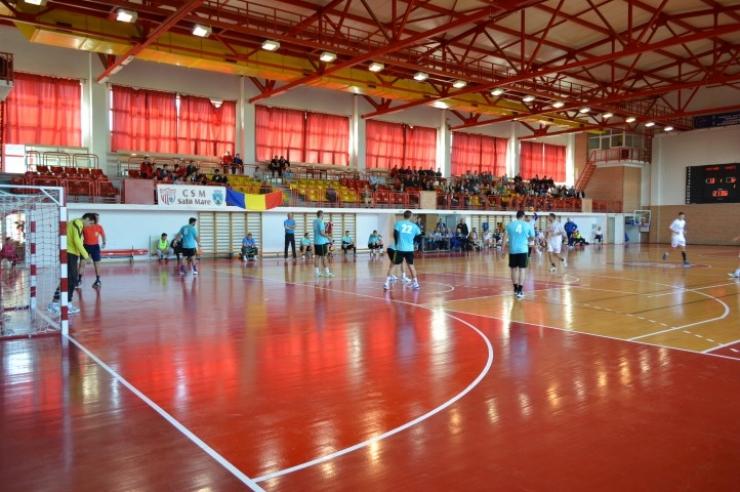 Handbal. Victorie pentru handbaliștii sătmăreni. CSM Satu Mare 33 - 24 HC Piteşti