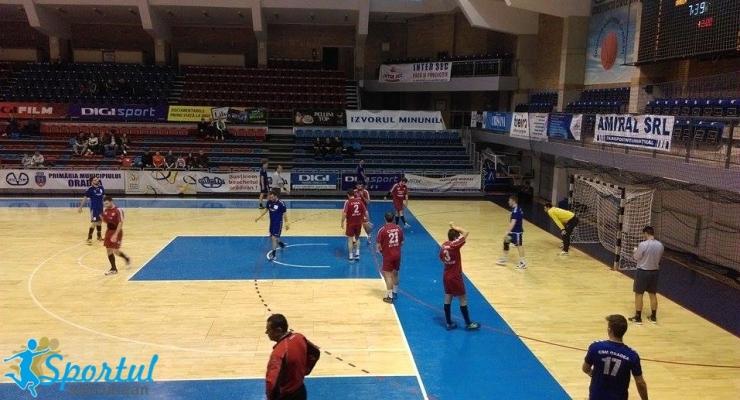 Handbal. Înfrângere pentru CSM Satu Mare în ultima etapă a turului Diviziei A la handbal