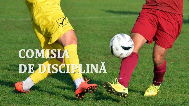 Deciziile Comisiei de disciplină, după incidentele de la jocurile din weekend