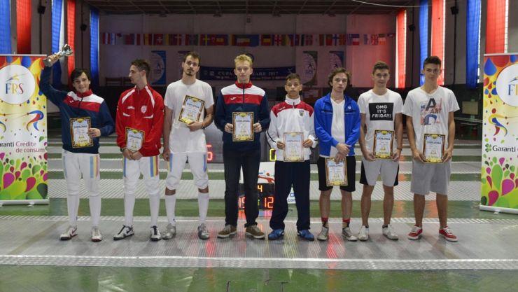 Alexandru Oroian (CS Satu Mare) a câștigat Cupa Federației la spadă juniori masculin