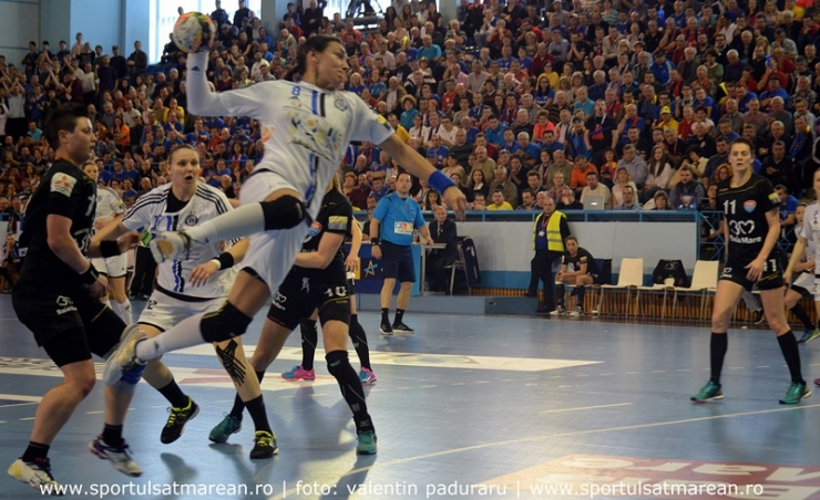 Liga Campionilor: HCM Baia Mare 24-29 Buducnost