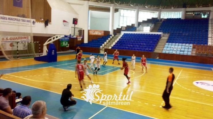 """Baschet. CSM Satu Mare a învins Phoenix Galati în al doilea meci de la Cupa """"Sirius"""""""