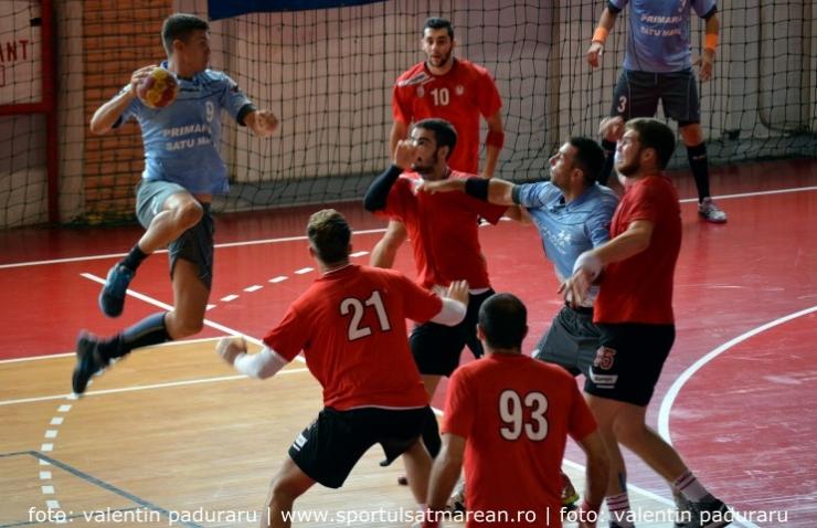 Handbal. CSM Satu Mare va întâlni luni, acasă, CNE Sighișoara