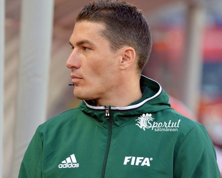 Europa League   Istvan Kovacs va arbitra joi KF Shkendija - AC Milan