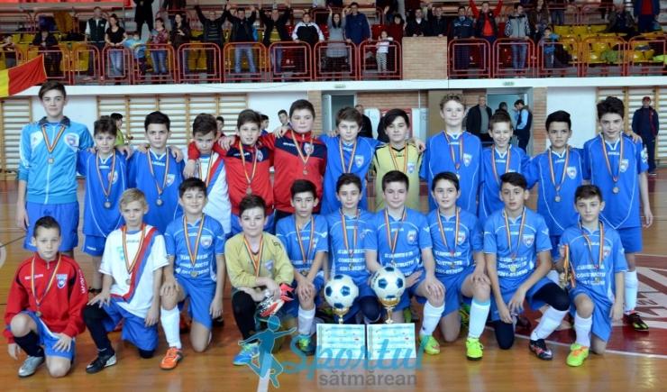 Minifotbal. CS Primavera a câștigat Cupa Unirii AJF Satu Mare (2003/2004)
