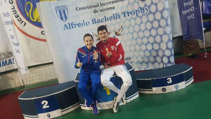 "Spadă | Adrian Szilagyi (CSM Satu Mare) a câștigat ""Trofeul Alfredo Bachelli"""