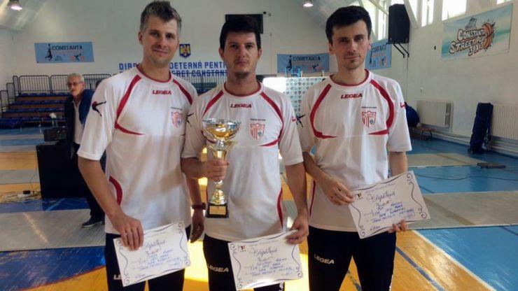 Spadă   Adrian Szilagyi (CSM Satu Mare) a câștigat Cupa României