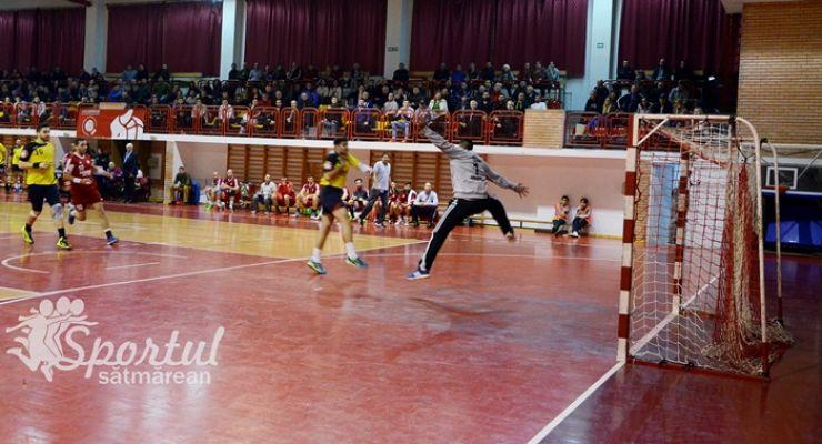 Liga Zimbrilor   CSM Satu Mare încheie turul cu o înfrângere