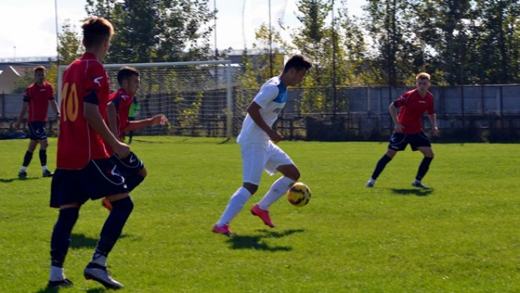 LPS Satu Mare a câștigat derby-ul sătmărean din Liga elitelor U19 cu FC Olimpia Satu Mare