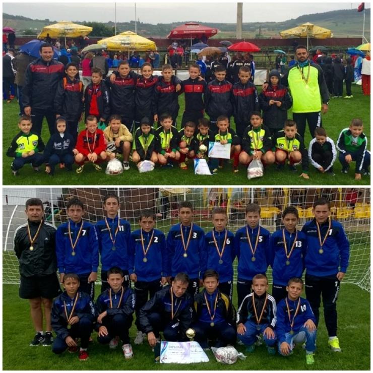 Fotbal juniori. Primavera și LPS pe primele locuri la Cupa Viitorul Zalău