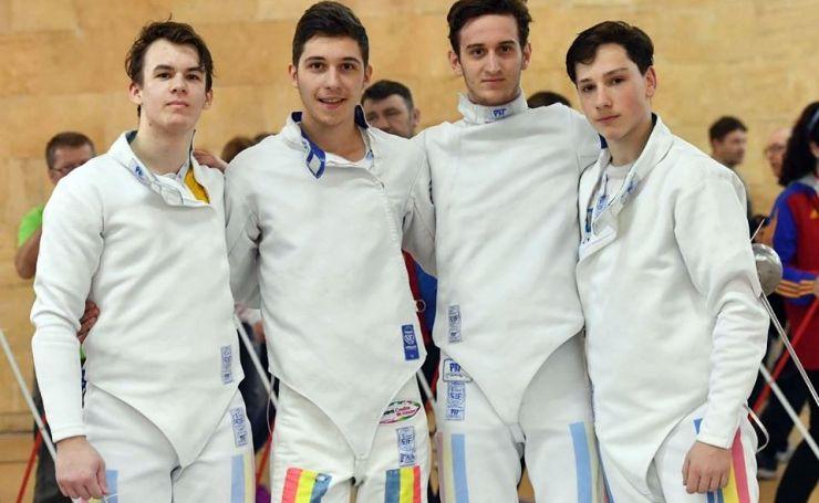 Spadă | România, cu trei sătmăreni în echipă, a câștigat bronzul la Campionatul European