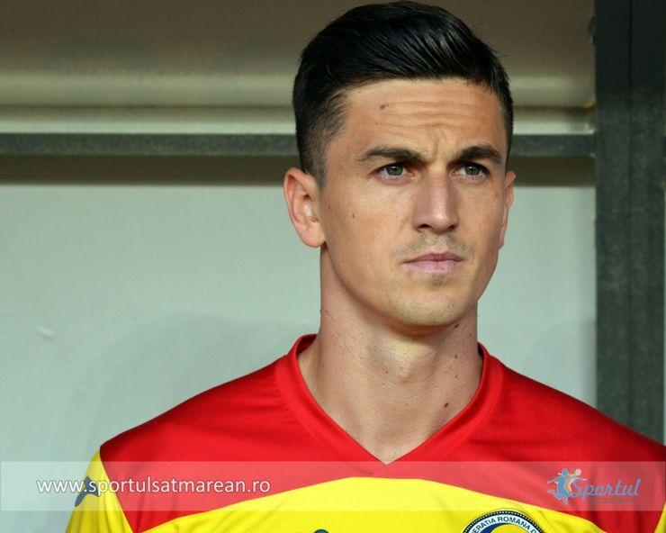 Sătmăreanul Florin Gardoș revine în Liga 1