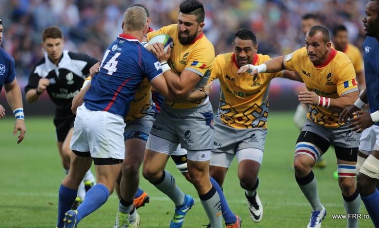 Rugby. Stejarii au învins Namibia la debutul în World Rugby Nations Cup 2016