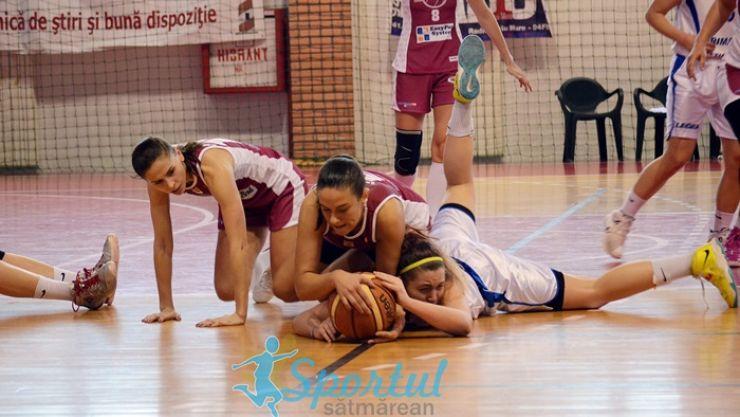 Baschet | Înfrângere la debutul în Liga 1 pentru fetele de la CSM 2 Satu Mare