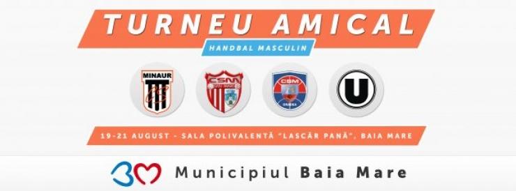 Handbal | CSM Satu Mare participă la un turneu amical în Baia Mare