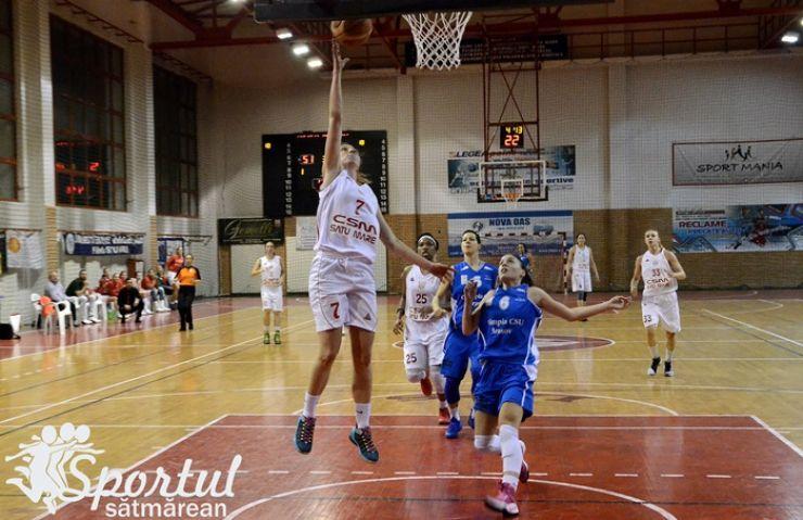 Cupa României   Baschetbalistele de la CSM Satu Mare au început anul cu o victorie