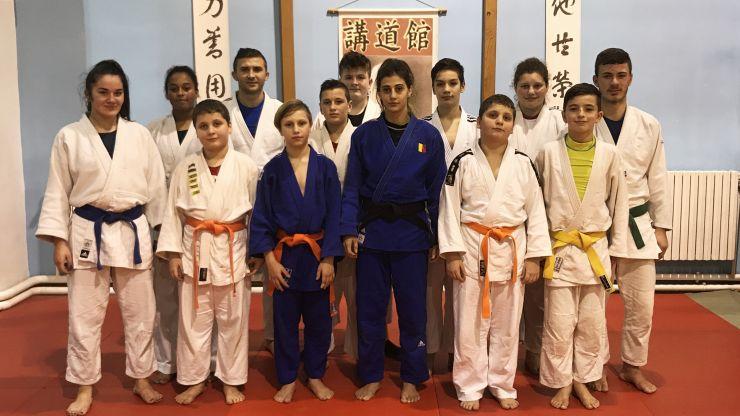 Stagiu de pregătire pentru judoka de la CSM Satu Mare