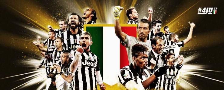 Juventus campioana Italiei, pentru a patra oară consecutiv și a 31-a oară în istorie