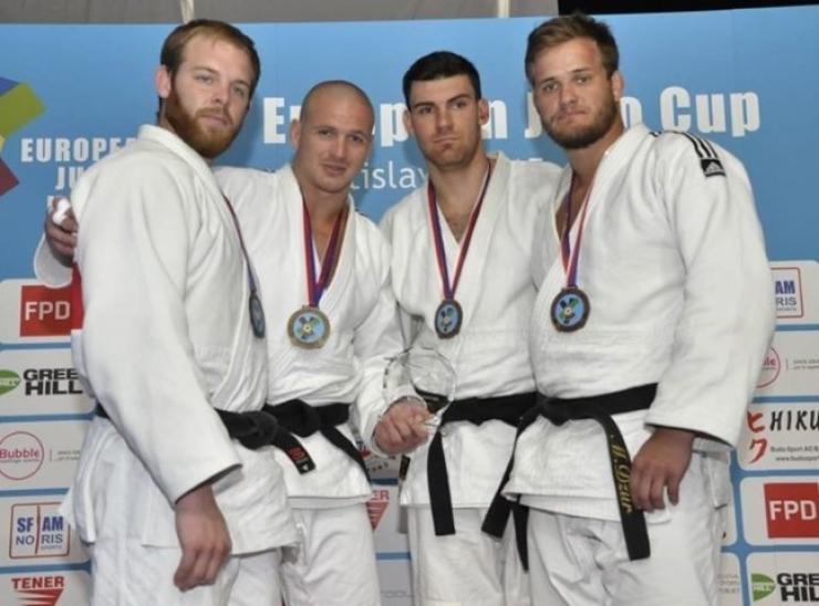 Judo. Lorand Samel a câștigat medalia de bronz la Cupa Europei din Slovacia