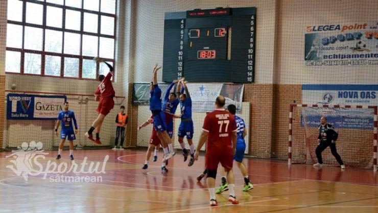 Liga Zimbrilor   Etapa 11: CSM Satu Mare 20 - 29 HC Dobrogea Sud Constanţa