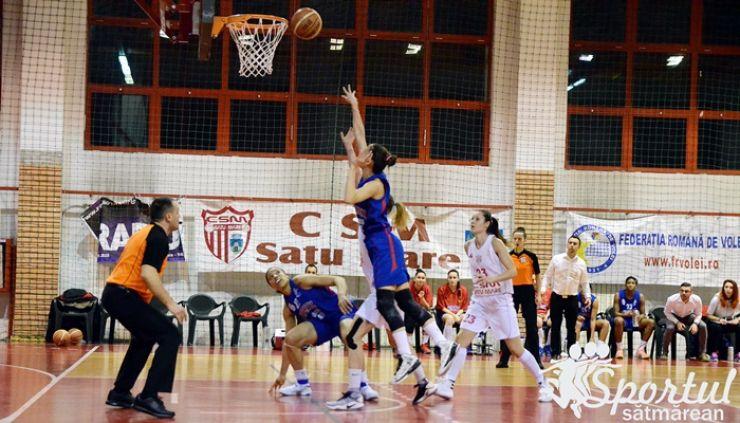 Baschet   Victorie in extremis obținută de baschetbalistele de la CSM Satu Mare
