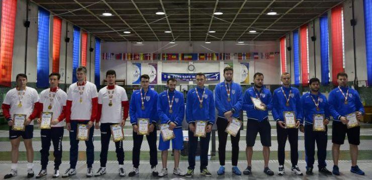 CSM Satu Mare a câștigat Campionatul Național de spadă seniori de la Satu Mare