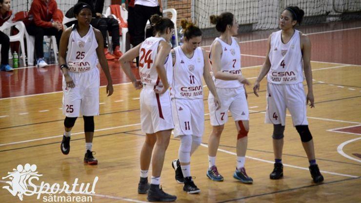 Baschet   CSM Satu Mare 62 - 79 Sepsi SIC Sfântu Gheorghe (31-40)
