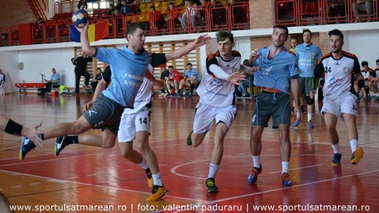 Handbal. Victorie muncită pentru CSM Satu Mare contra Academiei de Handbal Minaur