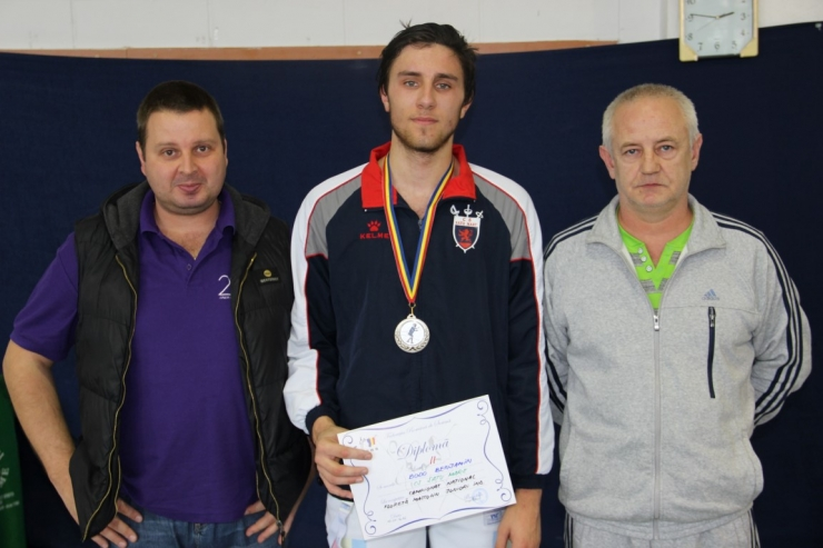 Floretă   Juniori. Benjamin Bodo a cucerit argintul la Campionatul Național