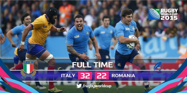 """RWC 2015. """"Stejarii"""" au încheiat cu fruntea sus Cupa Mondială de Rugby"""