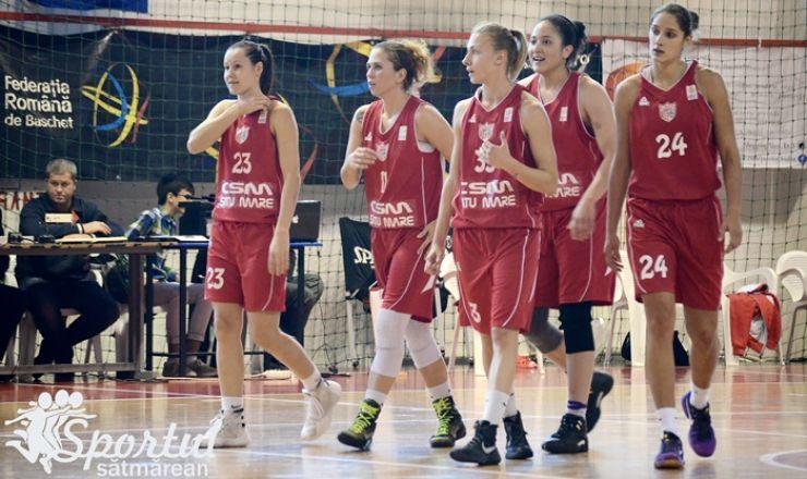 Baschet | CSM Satu Mare joacă sâmbătă în deplasare la campioana ACS Sepsi Sfântu Gheorghe