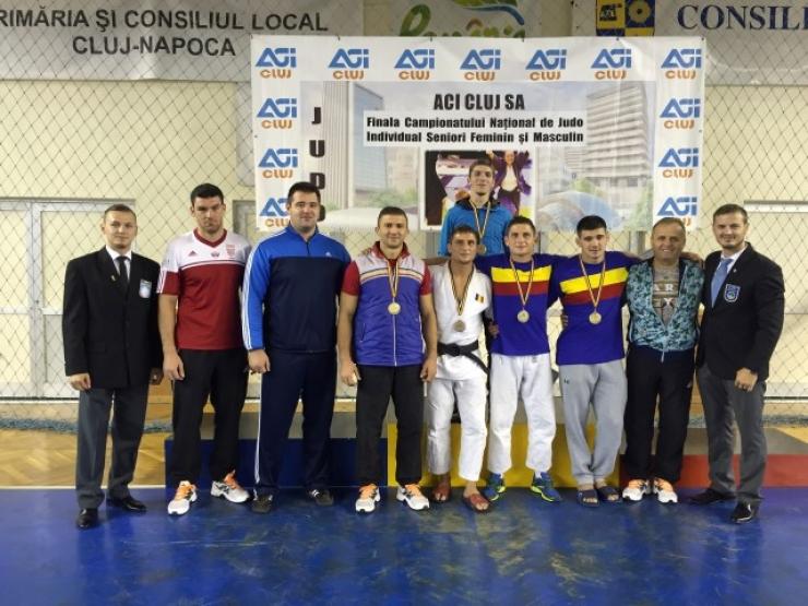 JUDO. Cinci medalii pentru CSM Satu Mare la Campionatul Național de judo seniori