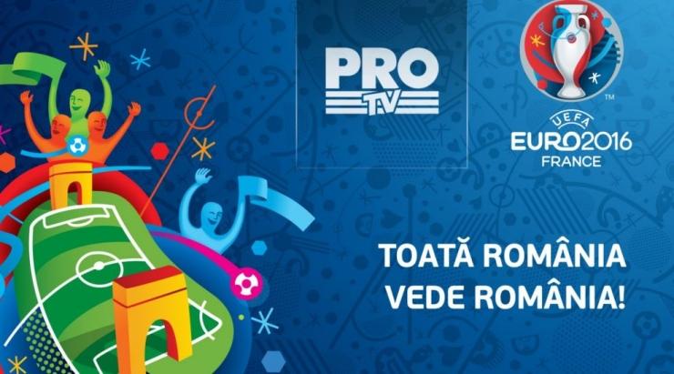 Oficial. Pro TV va transmite cele mai importante meciuri de la Euro 2016