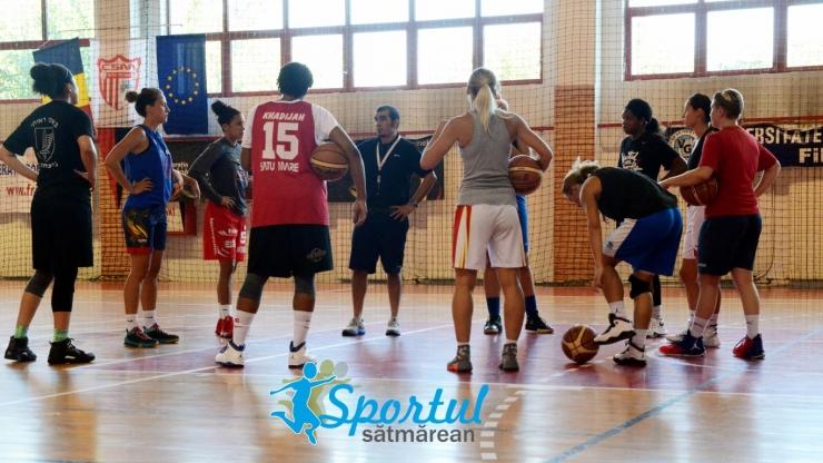Baschet | CSM Satu Mare va juca două meciuri amicale cu ICIM Arad