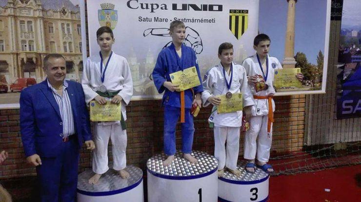 Rezultate foarte bune obținute de judoka sătmăreni la Cupa Unio